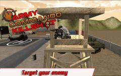 Army Commando kill Shot screenshot 2/6