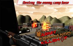 Army Commando kill Shot screenshot 5/6
