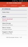 Video HD Downloader  screenshot 1/2