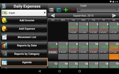 Daily Expenses License plus screenshot 1/6