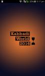 Kabbadi World Cup 2016 screenshot 1/6
