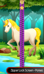 Zipper Lock Screen – Ponies screenshot 1/6