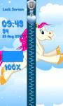 Zipper Lock Screen – Ponies screenshot 6/6