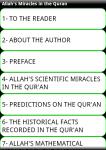 Allahs Miracles in Quran screenshot 2/6