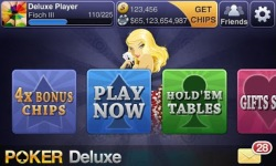 Texas HoldEm Poker Deluxe beta screenshot 1/2