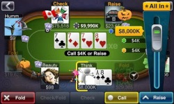 Texas HoldEm Poker Deluxe beta screenshot 2/2