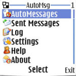 AutoMsg screenshot 1/1