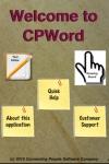 CPWord screenshot 1/1