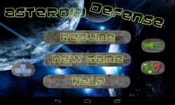 Asteroid Defense screenshot 1/3