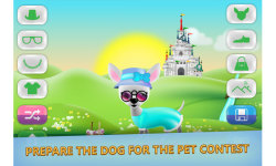 Dog dress up - Pet Shop Game for kids screenshot 1/3