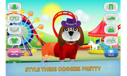 Dog dress up - Pet Shop Game for kids screenshot 2/3