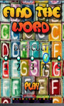 find the word kids games screenshot 1/3