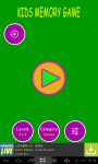 Kids Fun Memory Game screenshot 4/4
