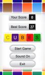 Cubes 240x400 screenshot 2/5