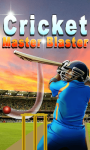 Cricket Master Blaster screenshot 1/1