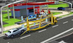 3D Car Transport Trailer  regular screenshot 2/6