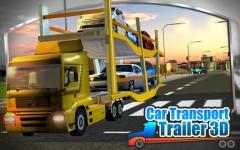 3D Car Transport Trailer  regular screenshot 3/6