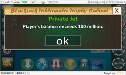 Blackjack Trillionaire Free screenshot 4/5