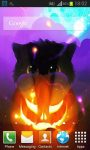 Halloween Kittens Live Wallpaper screenshot 1/5