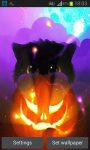 Halloween Kittens Live Wallpaper screenshot 3/5