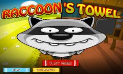 Little Raccoon Looking Towel screenshot 1/6
