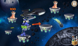 Worms VS Aliens screenshot 1/3