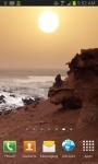 Ocean Sunset On Beach Live Wallpaper screenshot 1/4