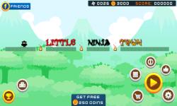 Little Ninja Revenge Game screenshot 1/6