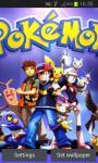 Pokemons Live Wallpaper screenshot 2/4