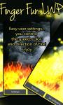 Play With Fire Finger Fun LWP Free screenshot 2/3