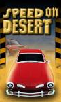 Speed On Desert - Free screenshot 1/4