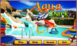 Free Hidden Object Games - Aqua Park screenshot 1/4