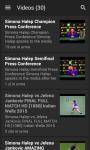 Simona Halep News screenshot 1/4
