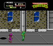 Teenage Mutant Ninja Turtles 2  The Arcade Game screenshot 2/4