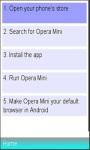 Best Way To Instal Operamini  screenshot 1/1