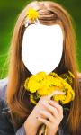 Flower Hairstyle Photo Montage screenshot 2/6