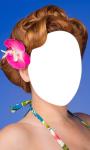 Flower Hairstyle Photo Montage screenshot 5/6