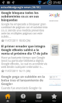 actualidad google on your mobile android screenshot 1/3
