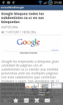 actualidad google on your mobile android screenshot 2/3