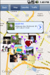 NearbyFeed LBS Social Network Microblog Map GPS screenshot 1/2
