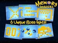 Memory: Invaders FREE screenshot 3/4