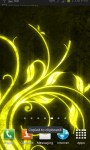Yellow Flourishes LWP free screenshot 3/3