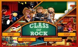 Free Hidden Objects Game - Class of Rock screenshot 1/4