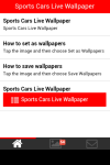 Sports Cars Live Wallpaper screenshot 2/5
