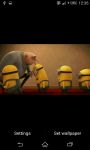 Despicable Me animated Live Wallpaper screenshot 3/5