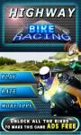 Highway Bike Racing 3D screenshot 1/6