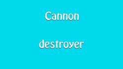 Cannon Destroyer screenshot 1/4