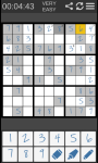 Smart Sudoku Free screenshot 1/3