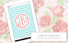 Monogram It Custom Wallpapers complete set screenshot 4/6