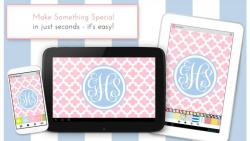 Monogram It Custom Wallpapers complete set screenshot 5/6
